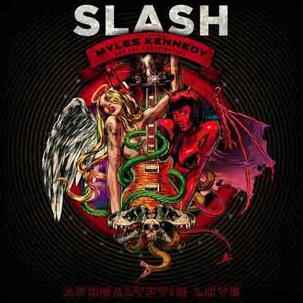Apocalyptic Love cover Slash