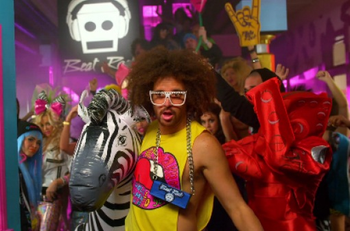 Sorry for party rocking lmfao