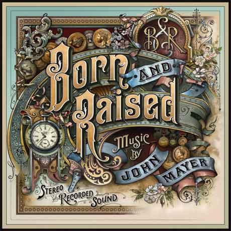 john-mayer-born-and-raised-cover-album
