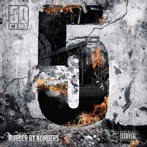 "Copertina album ""5 Murder By Numbers"" 50 Cent"