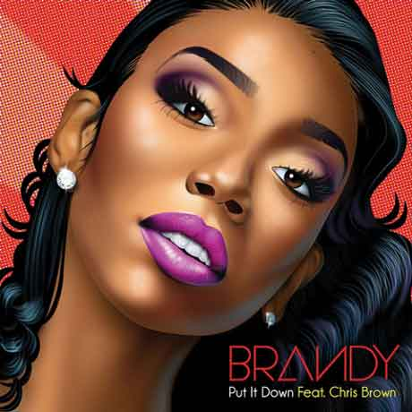 """Brandy """"Put It Down"""" Video Ufficiale feat. Chris Brown"""