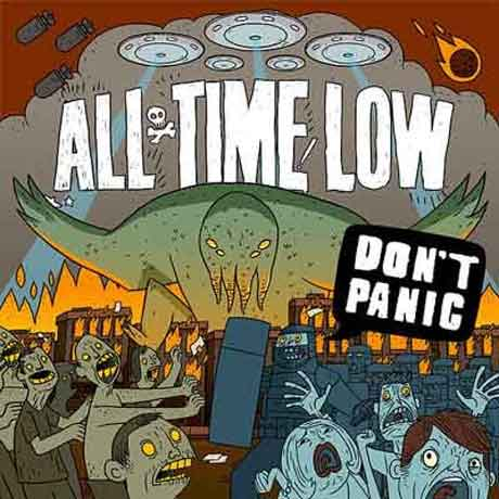 "All Time Low ""Don't Panic"" tracklist album 2012"