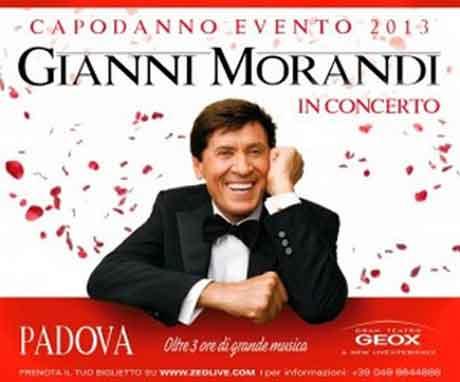 Gianni Morandi Padova 2023