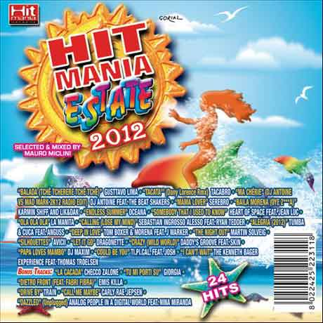 Canzoni Hit Mania Dance Estate 2012