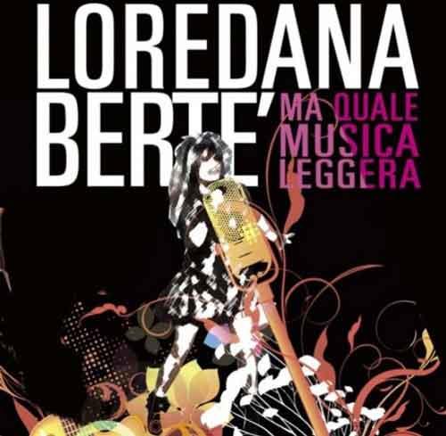 """Loredana Bertè """"Ma quale musica leggera"""" audio del nuovo singolo"""