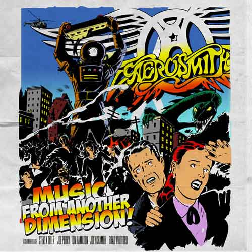 """Aerosmith """"Music From Another Dimension"""": tracklist nuovo album 2012"""