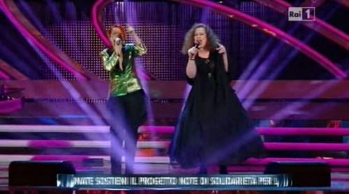 To feel in love (Amarsi un pò) Noemi, Sarah Jane Morris: video Sanremo 2012 terza serata