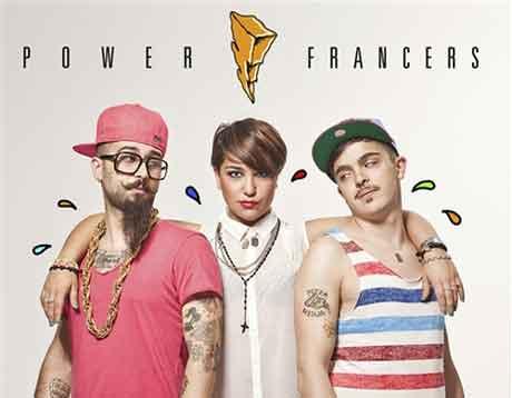 Power Francers: album 2012 tracklist