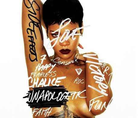 Rihanna Unapologetic cover album