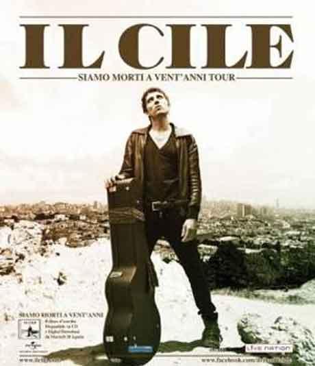 """Il Cile """"Siamo morti a vent'anni"""": tracklist album d'esordio"""
