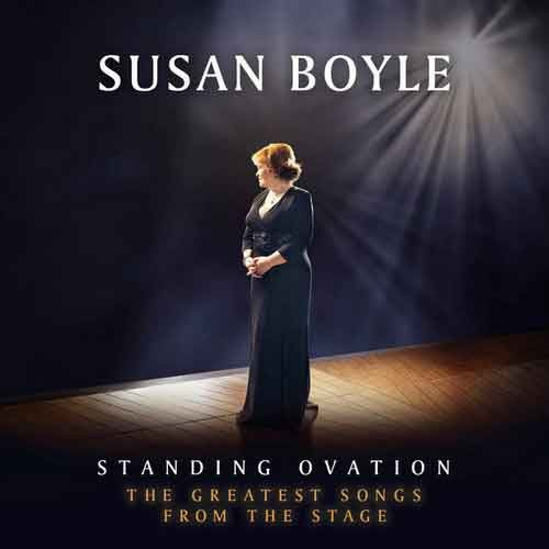 """Susan Boyle """"Standing Ovation: The Greatest Songs from the Stage"""" tracklist album"""