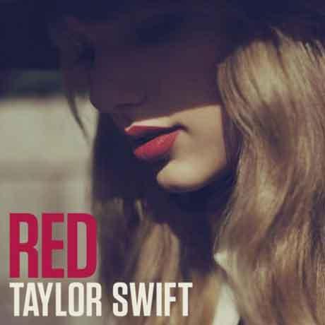 "Taylor Swift ""Red"" tracklist nuovo album 2012"