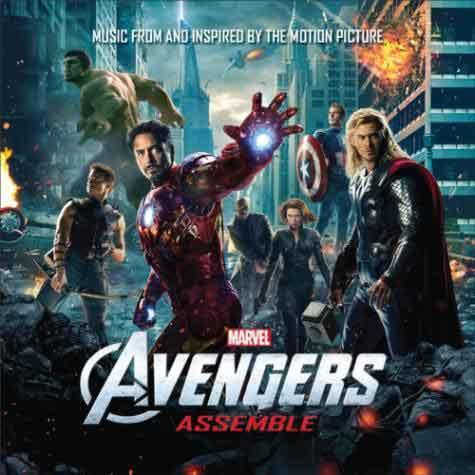 Avenger Assemble: tracklist compilation 2012