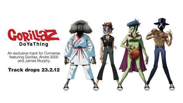 DoYaThing: video ufficiale dei Gorillaz