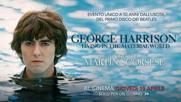 George Harrison: Living In The Material World film di Scorsese al cinema il 19 aprile