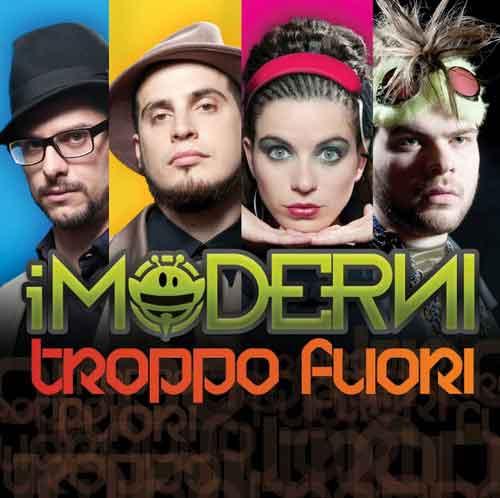 """I Moderni """"Troppo fuori"""": copertina e tracklist album 2012"""