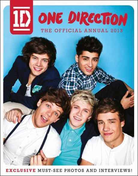 One Direction: in uscita il libro The Official Annual 2013