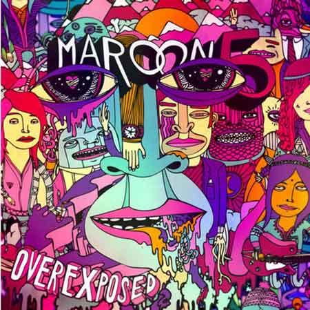 Maroon 5: la copertina di Overexposed nuovo album 2012