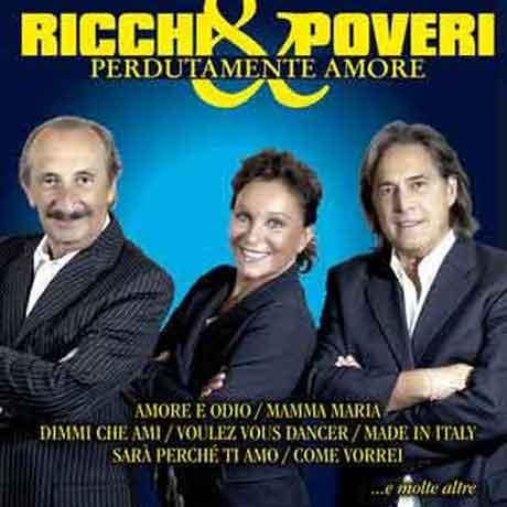"""Ricchi e Poveri """"Perdutamente Amore"""" album 2012 tracklist"""