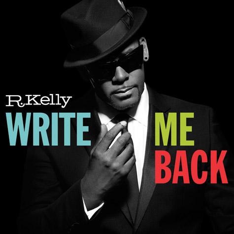 R. Kelly: album 2012 si intitola Write Me Back – La copertina