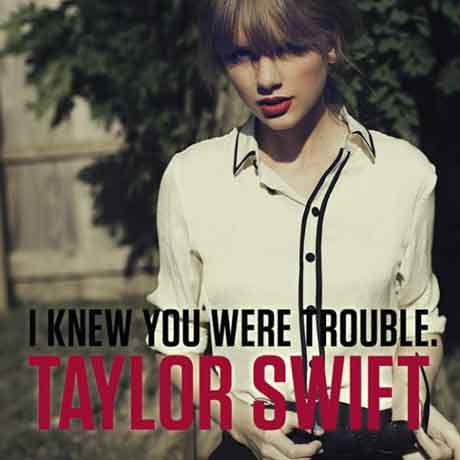 I Knew You Were Trouble,Taylor Swift: testo e traduzione