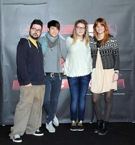 Album di Chiara, Cixi, Davide e Ics (X Factor 2012): tracklist e copertine