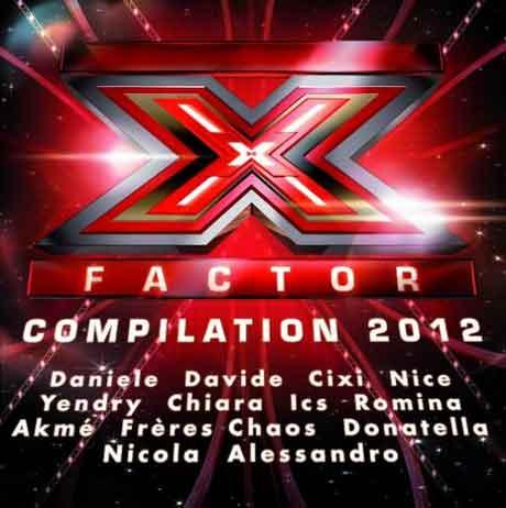 X Factor Compilation 2012: tracklist e copertina album