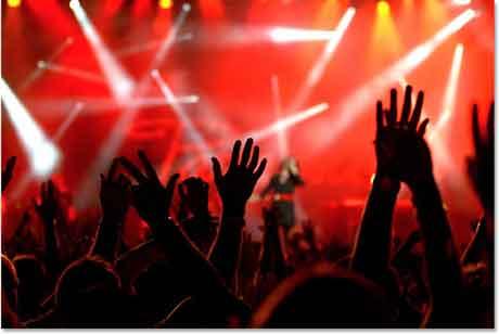Folla-concerto