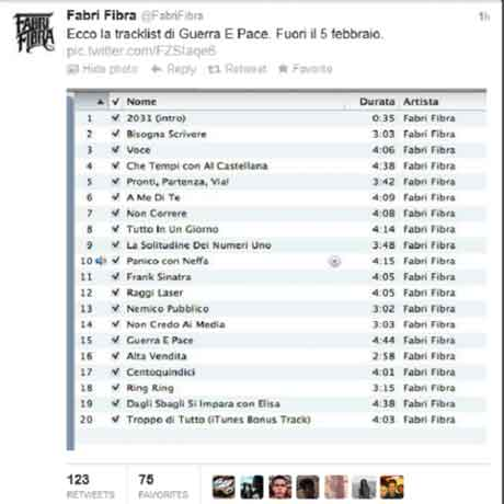 guerra-e-pace-tracklist-twitter