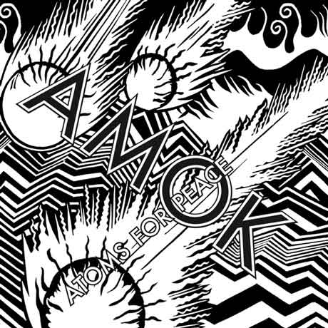"Atoms For Peace ""Amok"" tracklist album"