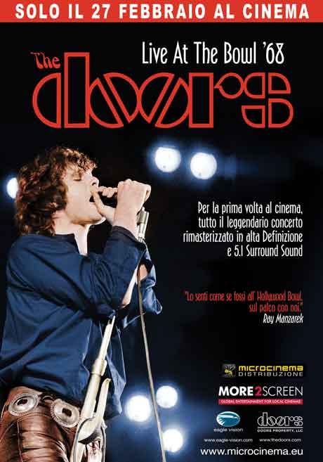 "The Doors ""Live At The Bowl '68"" al Cinema il 27 Febbraio 2013"