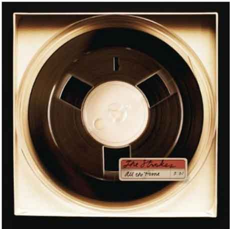 The-Strokes-All-The-Time-single-artwork