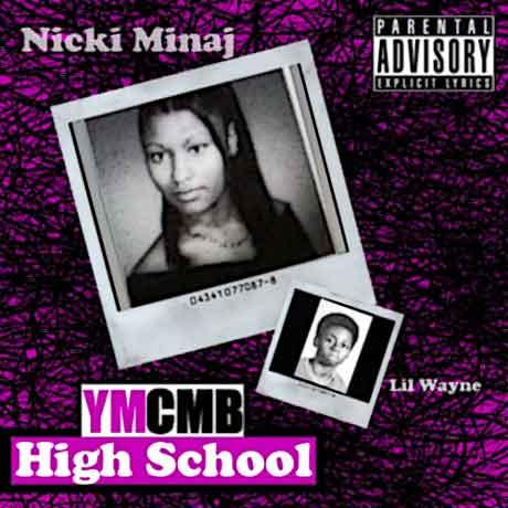 nicki-minaj-lil-wayne-High-School-artwork