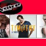 Elhaida Dani, Timothy Cavicchini e Veronica De Simone EP: tracklist (The Voice Of Italy)