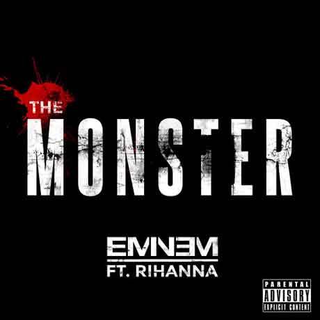 Eminem-Rihanna-The-Monster-artwork