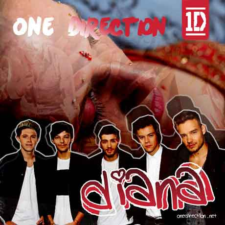 one-direction-diana-song-artwork