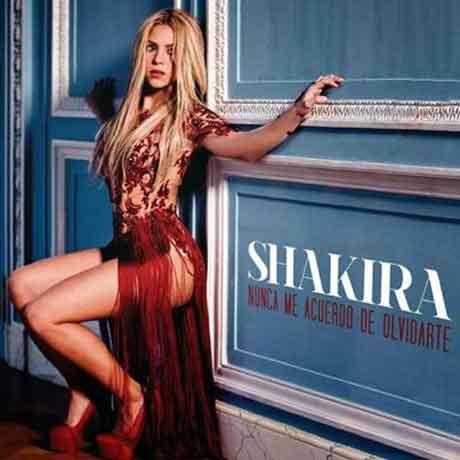 Nunca-Me-Acuerdo-de-olvidarte-Shakira-official-cover