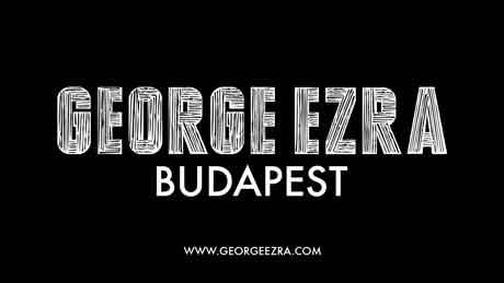 george-ezra-budapest-single-artwork