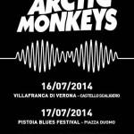Arctic Monkeys tour 2014: date italiane dei concerti