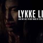 Love Me Like I'm Not Made Of Stone: il video del nuovo singolo di Lykke Li