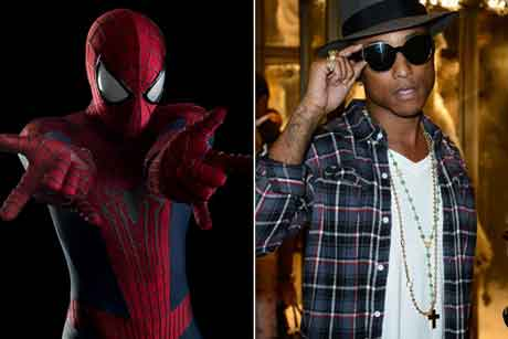 amazing-spider-man-2-pharrell-williams