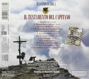 Il-Testamento-Del-Capitano-tracklist