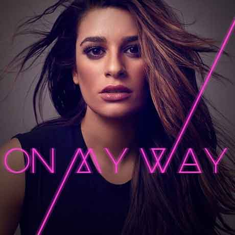 On-My-Way-artwork-Lea-Michele