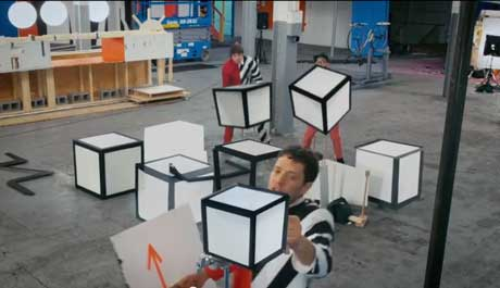 The-Writings-On-the-Wall-video-okgo