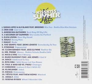 Kiss-Kiss-Summer-Hits-2014-b-side