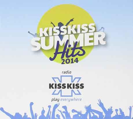 Kiss-Kiss-Summer-Hits-2014-cd-cover