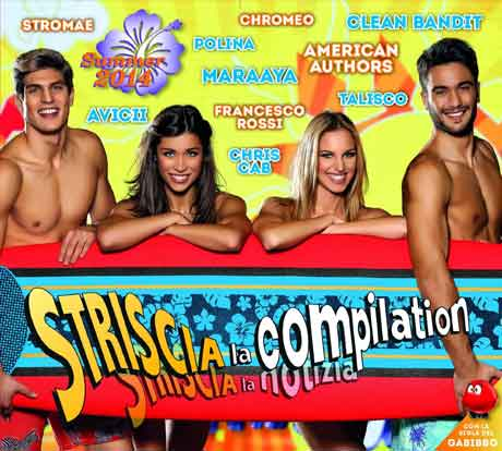 Striscia-La-Compilation-Summer-2014-cd-cover