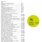 Syro nuovo disco di Aphex Twin: audio, tracce e copertina