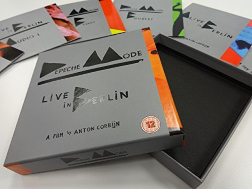 Depeche Mode Live In Berlin box content