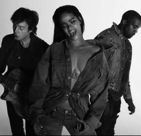 mccartney-rihanna-kanyewest-FourFiveSeconds-official-video